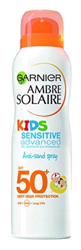 Ambre Solaire bambini sensibile anti-sand crema solare spray SPF50+ 200ml