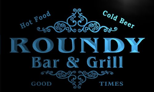 u38406-b-roundy-family-name-bar-grill-home-brew-beer-neon-sign-enseigne-lumineuse