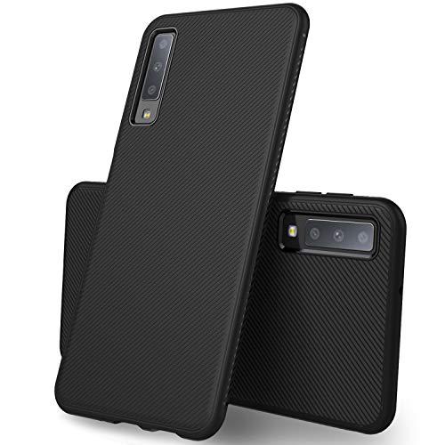 iBetter Samsung Galaxy A7 2018 Cover, Samsung Galaxy A7 2018 Protettiva Cover Protezione Durevole, Compatibilita esatta per la Samsung Galaxy A7 2018 Smartphone.(Nero)