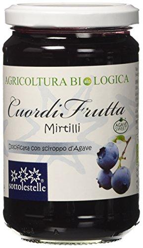 Sottolestelle Cuordifrutta Mirtilli - 6 confezioni da 320gr - Totale  1.92 kg