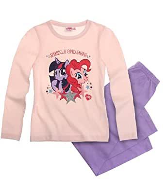 New Girls Official Licensed My Little Pony Pyjamas age 2-8 years (Age 2, Pink)