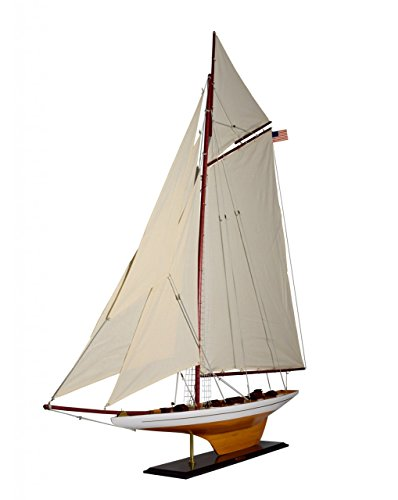 Navyline Holz Modellboot Columbia als Standmodell Höhe 148cm