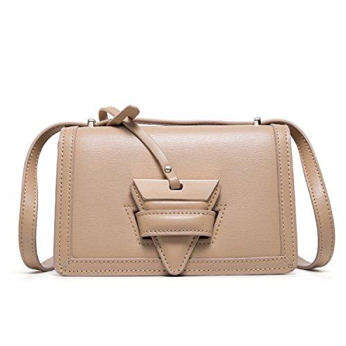 Borsa Quadrata Piccola Borsa Messenger Bag Borsa A Tracolla,Pink Khaki