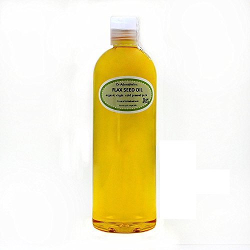 Flax Seed Oil Organic Pure 16 Oz