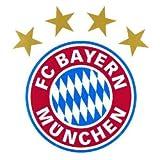 FC Bayern München Wandtattoo 'Logo' ca. 32x30cm