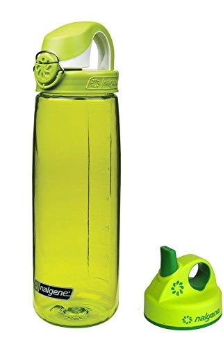 nalgene-trinkflasche-everyday-otf-07-l-grun-grip-n-gulp-deckel-grun