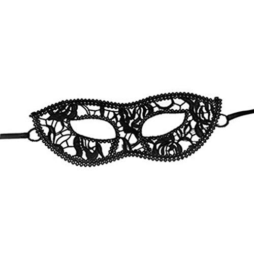 (SEWORLD Halloween Maskerade Maske Prom Party Maske Zubehör(G,24x9cm))
