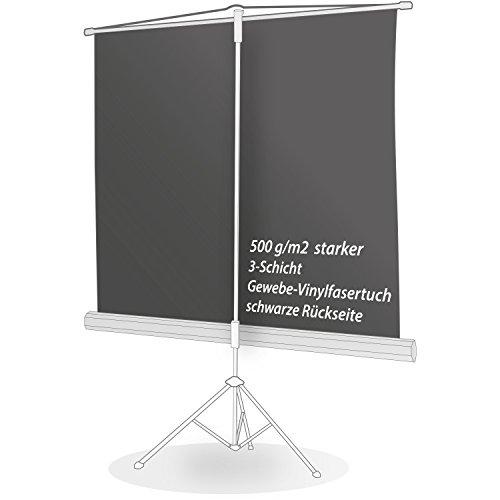 ULTRALUXX – mobile Stativleinwand 240×240 cm, 133 Zoll, weiß matt - 3