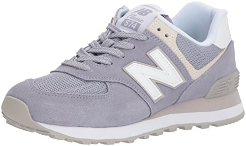 New Balance Damen Wl574EB Sneaker, Mehrfarbig (Lilac), 37 EU