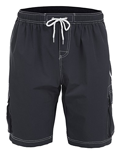 hasuit-mens-beachwear-board-shorts-quick-dry-with-adjustable-drawstring-gray-xl