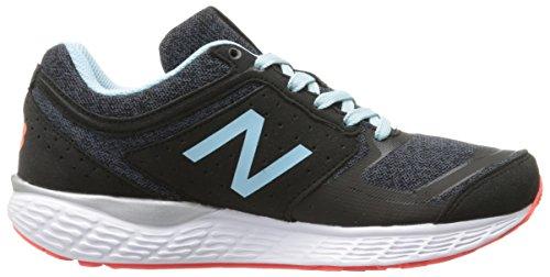New Balance Women's 520v3 Running Shoe, Black/Thunder, 10 B US Black/Thunder