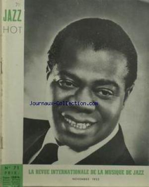 JAZZ HOT [No 71] du 01/11/1952 - LA REVUE INTERNATIONALE DE LA MUSIQUE DE JAZZ.