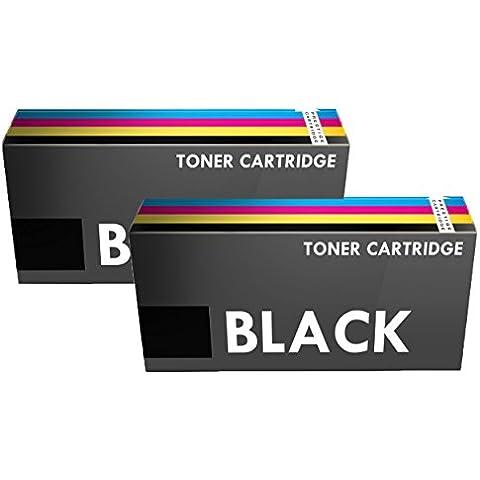 Prestige Cartridge 715 - Tóner de alta capacidad, color negro, 2 unidades