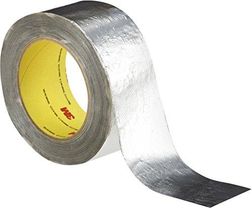 3M 7000028867 Aluminium-Glasgewebe-Klebeband, 363, 50,8 mm x 33 m, 0,2 mm, Silber (24-er Pack)