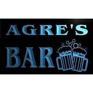 w054385-b AGRE Name Home Bar Pub Beer Mugs Cheers Neon Light Sign Barlicht Neonlicht Lichtwerbung