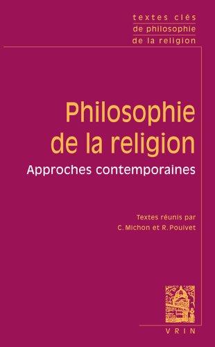 Textes Clés de philosophie de la religion