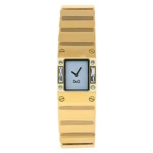 Dolce & Gabbana – Reloj de Mujer, Correa de Acero Inoxidable – Color Oro