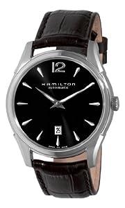 Hamilton H38615735 - Reloj para hombre, correa de cuero color marrón de Hamilton