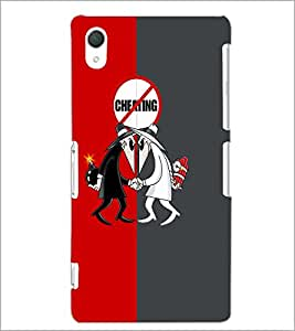 PrintDhaba Funny Image D-4187 Back Case Cover for SONY XPERIA Z3 (Multi-Coloured)