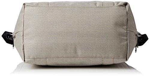 Kipling Art S KC - Borsa a spalla, 45cm Beige (Beige (Woven Cream_59T))