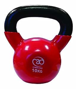 Fitness-Mad 4Kg Kettlebell - Pink, 4 kg