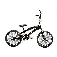 Bicicletta Bambino Ragazzo 20 Pollici Altec Freestyle BMX Freni V-Brake 85% Assemblata Nero - 20 Ragazze Bmx Bicicletta