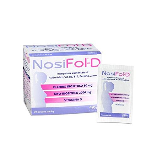 NOSIFOL D 30 BST. BENESSERE DONNA INOSITOLO VITAMINE ZINCO.NO GLUTINE E LATTOSIO