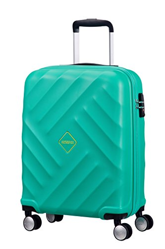 american-tourister-crystal-glow-spinner-55-20-tsa-bagaglio-a-mano-aqua-turquoise-33-ml-55-cm