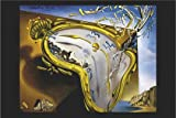 Montre Moll derretido de Salvador Dalí reloj Arte de papel medidas Póster (91,5x 61cm (36x 24pulgadas)
