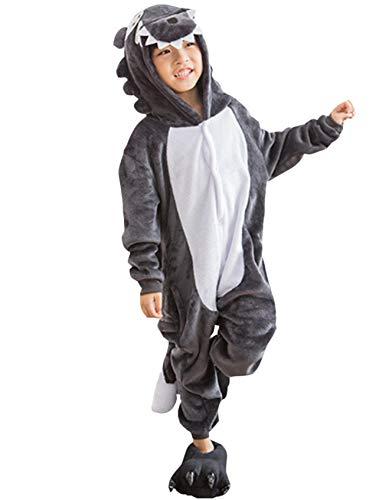 6d5a0c887 Kigurumi Pijama Animal Entero Unisex Niños Capucha