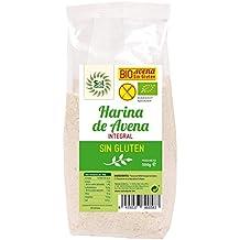 Sol Natural Harina de Avena, sin Gluten - Paquete de 6 x 500 gr -