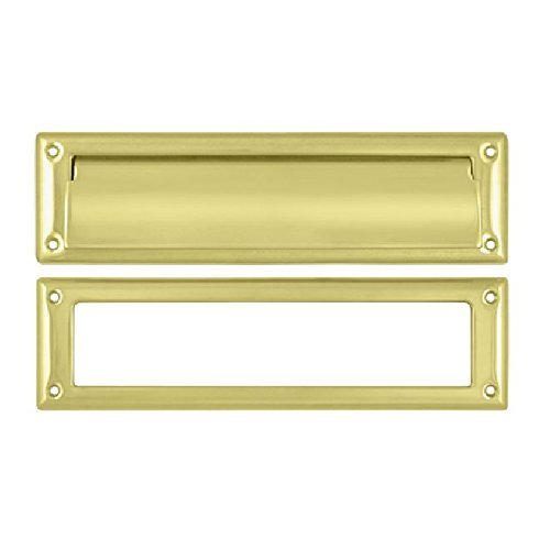 Deltana MS211U3 11 x 2 1/4 Solid Brass Mail Slot by Deltana