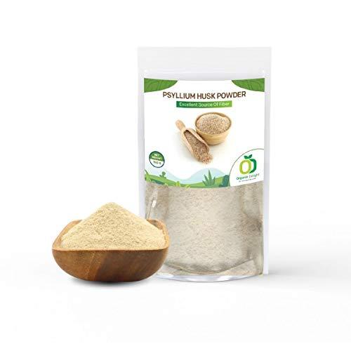 Organic Delight Isabgol Psyllium Husk Powder Relief from Constipation, Digestion – 150Gm
