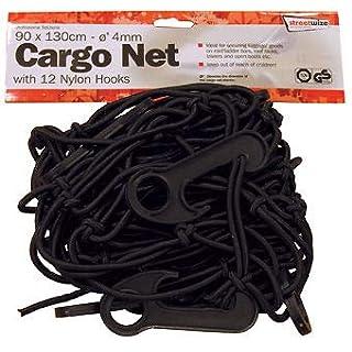 A-szcxtop (TM) schwarz 38,1x 38,1cm 6Haken Bungee Cargo Net erstreckt sich 76,2x 76,2cm für ATV