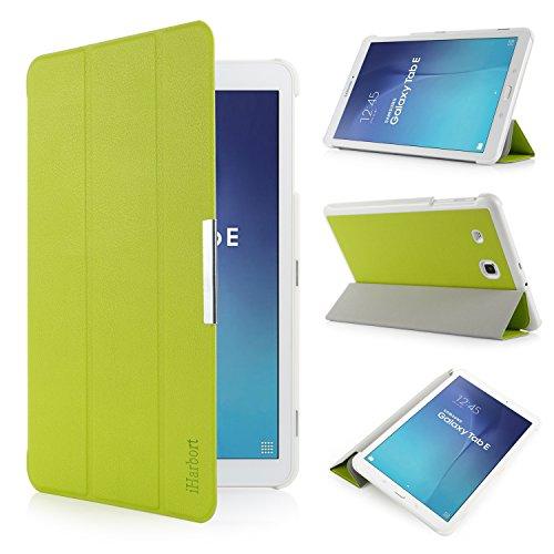 iHarbort® Samsung Galaxy Tab E 9.6 Coque Étui Housse - Ultra Slim étui Housse Cuir Coque avec Support pour Samsung Galaxy Tab E 9.6 pouce T560 T565 Co...