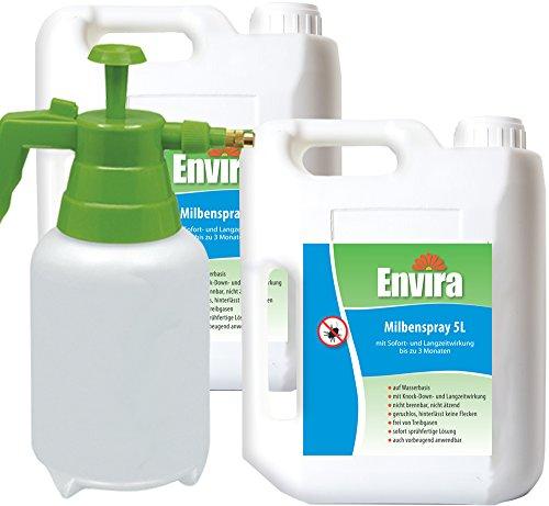 ENVIRA Schutz vor Milben 2x5Ltr+2Ltr Sprüher