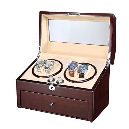 AUBLAN Uhrenbeweger WW-8045-MAH-CR