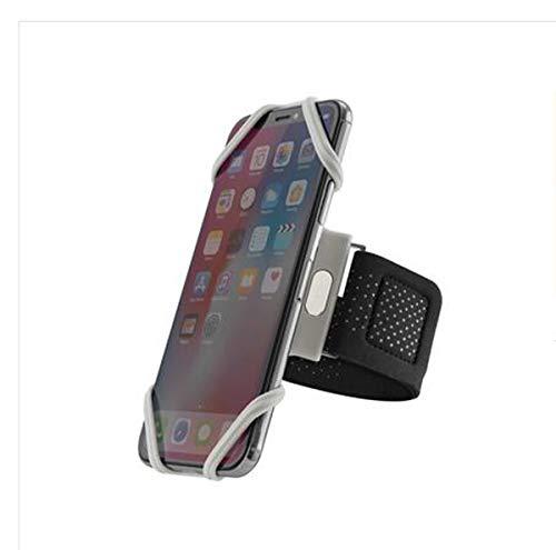WLWLEO Für iphone6   Plus Sport-Arm-Hülse Handy-Universalschutzfall-justierbarer Arm-Bügel,Gray,L