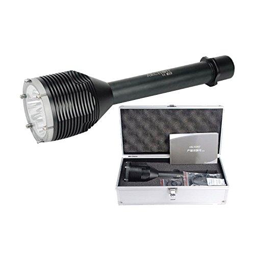 Archon D33plongée lampe de poche étanche 100metres de profondeur avec 3pcs CREE XM-L2U2LED 3000Lumens plongée lumière plongée lumière