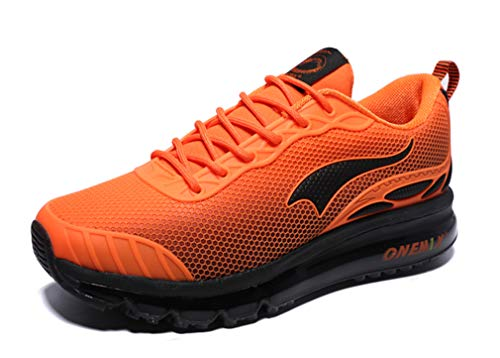 Dilize-OneMix, Scarpe da Corsa Unisex Adulti, Arancione (Orange/Black), 40