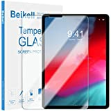 """Screen Protector for iPad Pro 11"""" 2018, Beikell Premium Tempered Glass Screen Protectors for iPad Pro 11 inch - 9H Hardness, Anti Scratch, No Bubbles, High Definition, Easy To Apply, Case Friendly"""