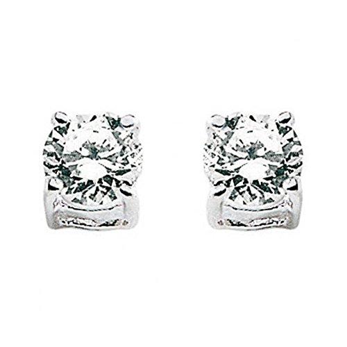 Orecchini Comete PUNTO LUCE ORB636 Oro Bianco Diamante