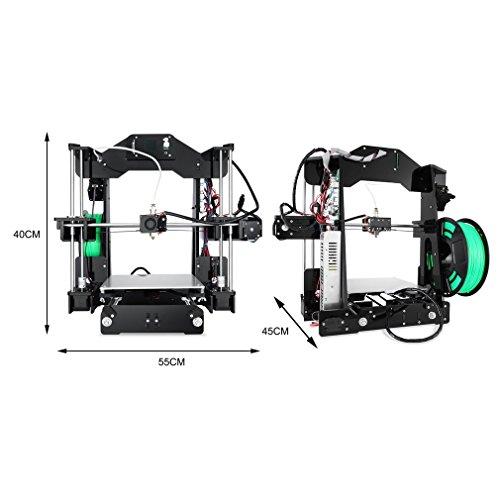 Ohholly Z1 3D Drucker Druckgröße Durable Hohe Genauigkeit 220x220x240mm - 2