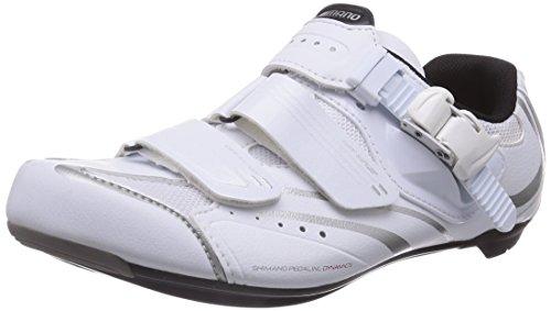 Shimano SH-WR42 Unisex-Erwachsene Radsportschuhe - Rennrad Weiß (White)