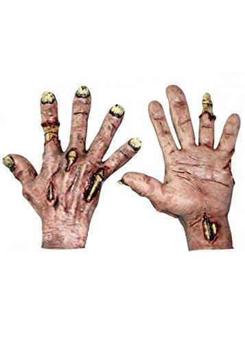 Erwachsene Deluxe Zombie Flesh Hände Handschuhe