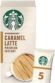 Starbucks® Caramel Latte Premium Instant Coffee Mix, box of 5 sachets, 107.5g