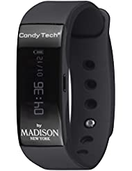 MADISON NEW YORK Unisex-Armbanduhr Go Time Digital Quarz Plastik CT-04A