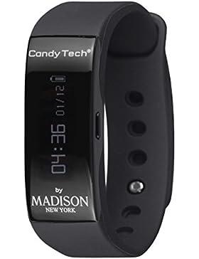 MADISON NEW YORK Unisex-Armbanduhr Go Time Digital Quarz Plastik CT-04A
