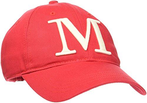 Marc O`Polo Casual Damen Baseball Cap 804806501027, Rot (Crimson Red 350), One Size Preisvergleich