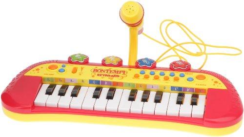 Bontempi Elektronisches Keyboard mit 24Schlüssel (Funk-rhythmus-gitarre)